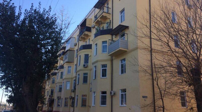 Капитальный ремонт фасадов.