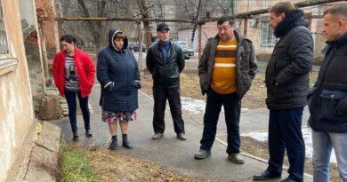 Контроль качества работ по капитальному ремонту под контролем  Александра Рарова